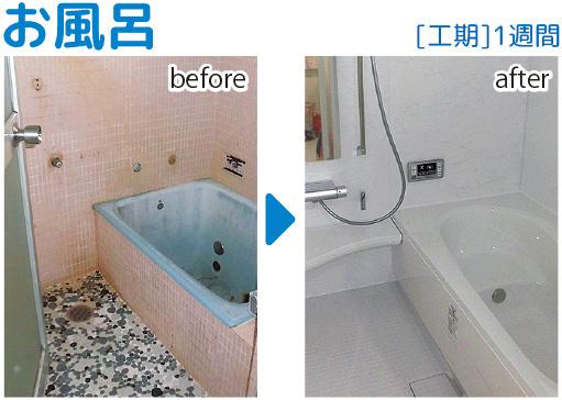 風呂リフォーム01